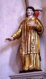 San Baldomero para el cerrajero.