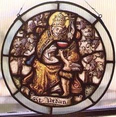 San Urbano I, papa, mártir y patrón de los borrachos.