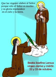 Beata Josefina Leroux, clarisa mártir.