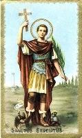 ¿Está canonizado San Expedito?
