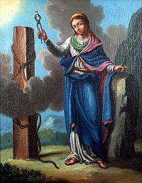 Santa Apolonia: presbytera virginis