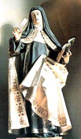 Santa Teresa, muerte por obediencia