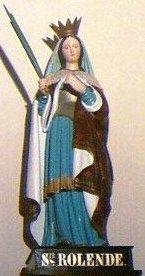 Santa Rolendis, ni mártir ni ursulina