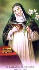 Santa Margarita de Hungría