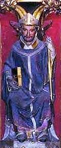 San Rigoberto, abad y arzobispo
