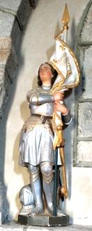 Santa Juana de Arco, su rehabilitación