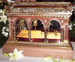 Reliquia de Santa Margarita María