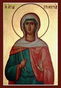Sí, las Gliceria tienen santa