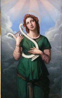 Santa Cecilia, aclaración