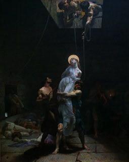 Martyrium: enterramiento en vida