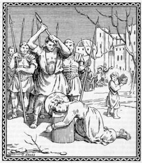 Martyrium: poena capitalis