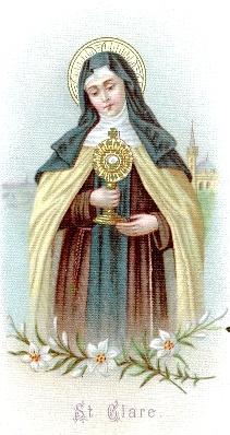 Santoral II Orden Franciscana (Clarisas)