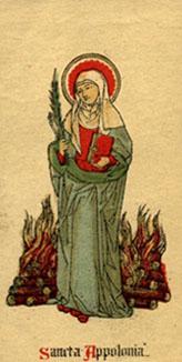 Santa Apolonia: realidad versus ficción