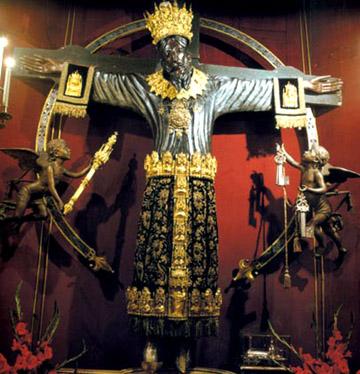 La Crucifixión: el mito de Santa Wilgefortis