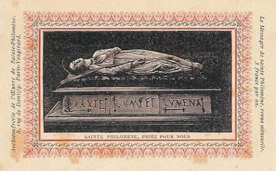 La Cuestión Filoménica (I) – La lápida