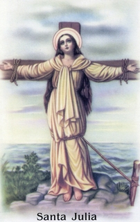 Santa Julia, esclava y mártir