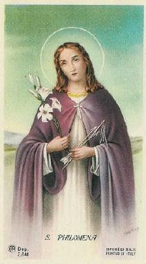 La devoción a Santa Filomena (I) - Hallazgo y traslado del cuerpo