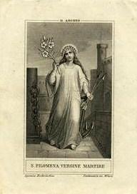 La devoción a Santa Filomena (IV) – Teorías acerca de la lápida