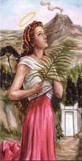 Santa Águeda: un poco de iconografía