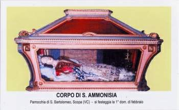 Santa Amonisia (Artemisia) en Scopa
