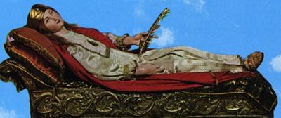 Santa Constanza en Arienzo