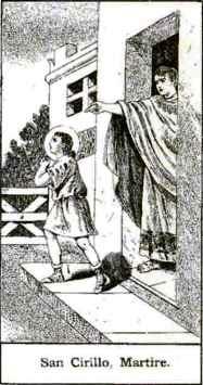 San Cirilo, niño mártir