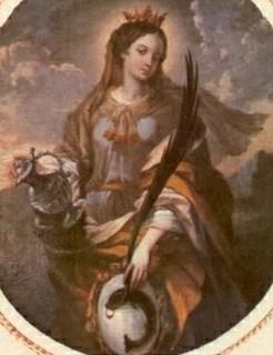 Santa Verena de Zurzach: virgen, no mártir