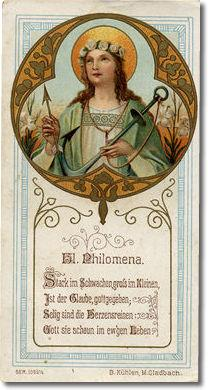 Comentario a la leyenda de Santa Filomena (I)