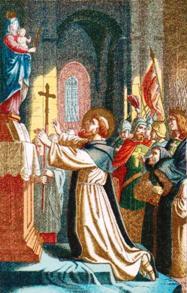 Iconografía de San Bernardo de Claraval