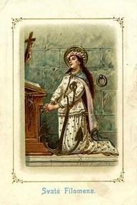 Comentario a la leyenda de Santa Filomena (V)