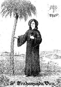 Santa Trahamunda, para los emigrantes