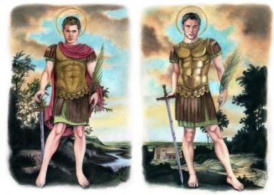 Santos Bonoso y Maximiano, su leyenda