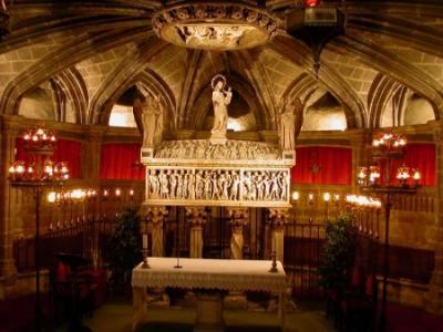 Las reliquias de Santa Eulalia