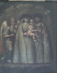 La Virgen de la Peña de Bogotá