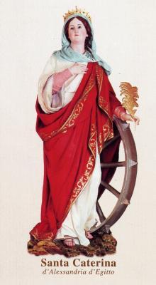 Solemnidad de Santa Catalina de Alejandría