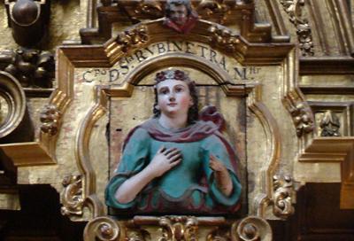 El misterio de Santa Rubinetra