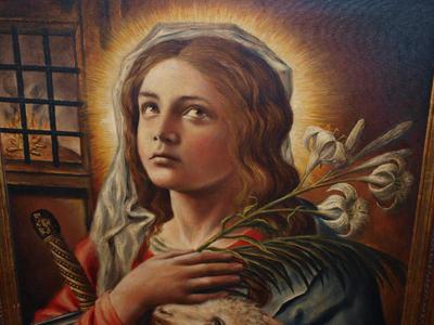 Santa Inés: historia y leyenda