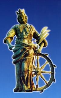 Santas con rueda: iconografía