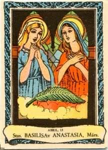 Santas Basilisa y Anastasia
