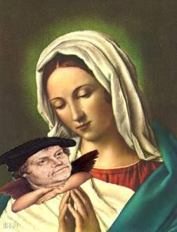 De Martin Lutero y la Virgen María
