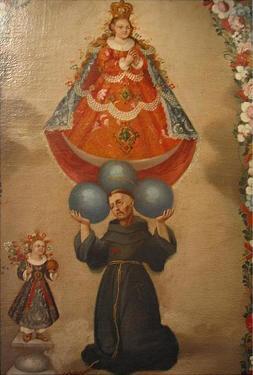 San Francisco y la Inmaculada
