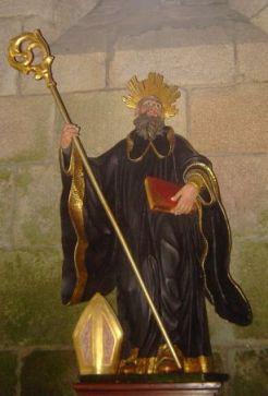 San Benito de Nursia, abad y fundador.