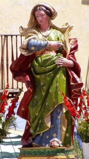 Santa Sinforosa  y sus siete hijos (I)