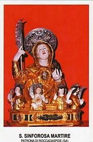 Santa Sinforosa y sus siete hijos (III)