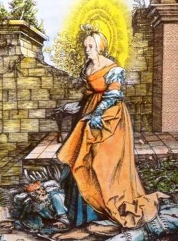 Santa Hermelina de Brabante