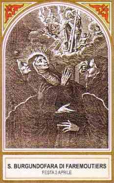 Santa Burgundófora o Fara