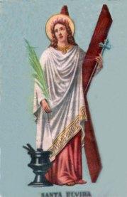 Santa Elvira, quien y cuando...