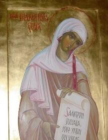 Santa Febe, la diaconisa.