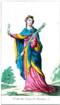 Santa Apolonia, la novena