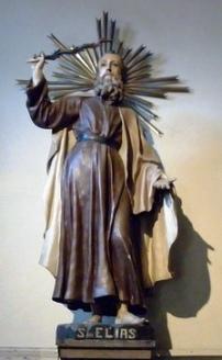 San Elías, virgen y eremita